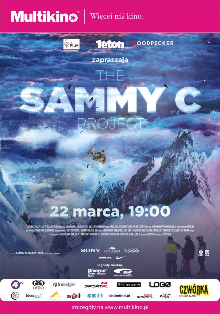 Plakat naszej realizacji Sammy C